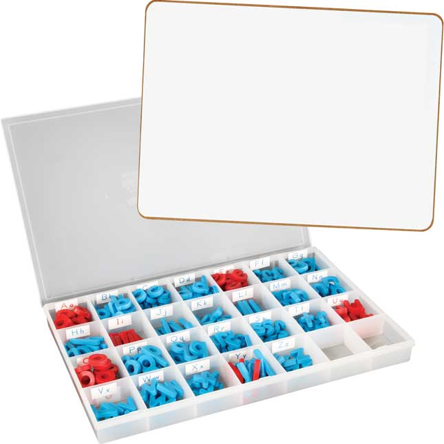 Magnetic Dry Erase Boards With Letters - Class Pack