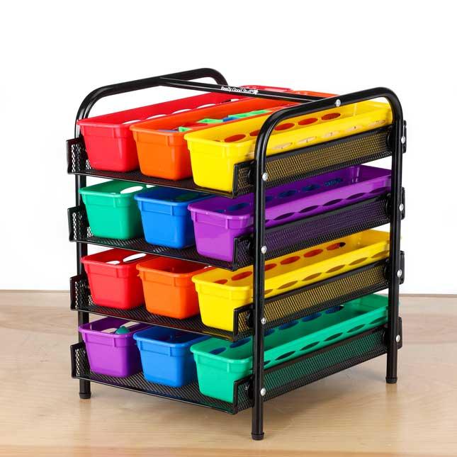 Desktop Supplies Station - 1 tiered organizer