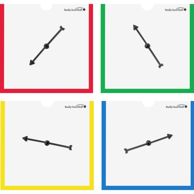 Spinner Sleeves With Programmable Cards  Set Of 4