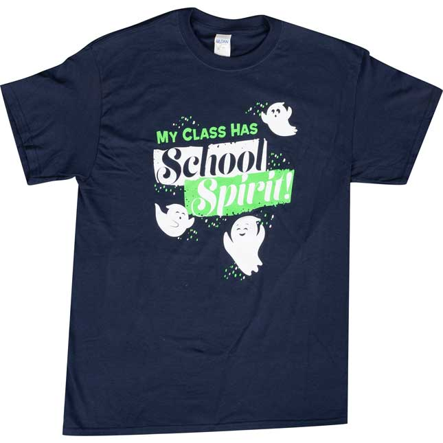 School Spirit T-Shirt - Large