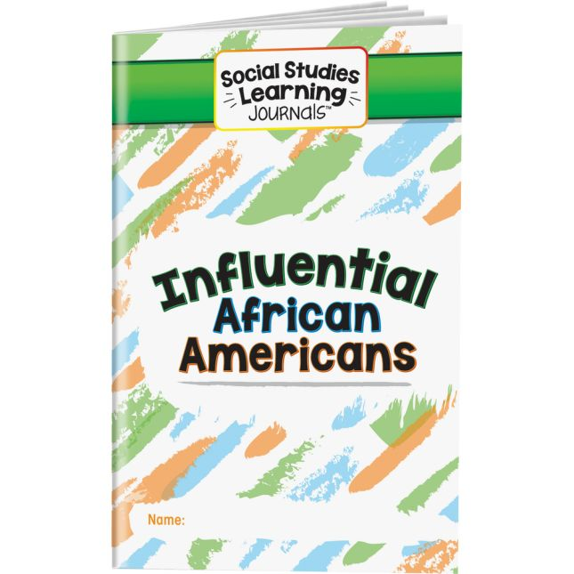 Social Studies Learning Journals™ - Influential African Americans