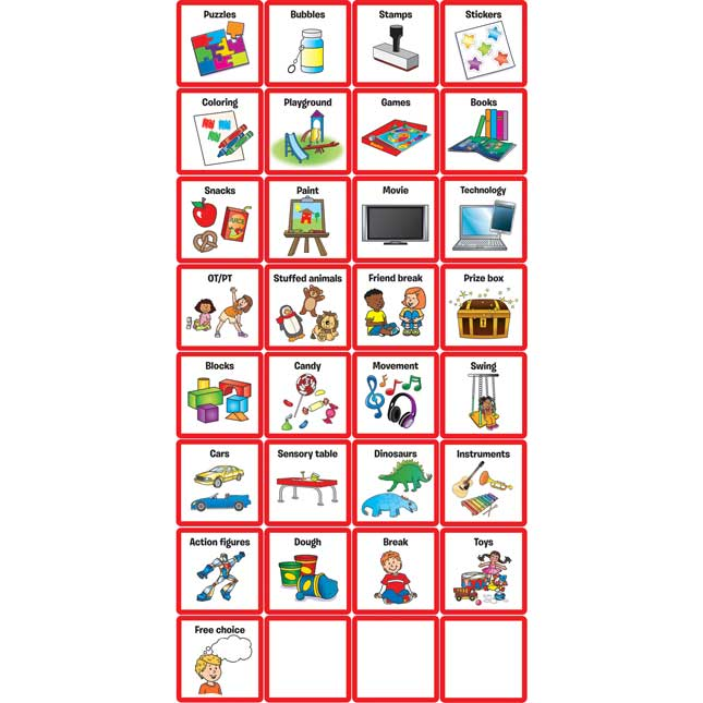 Token Boards - 2 boards, 32 cards, 49 tokens