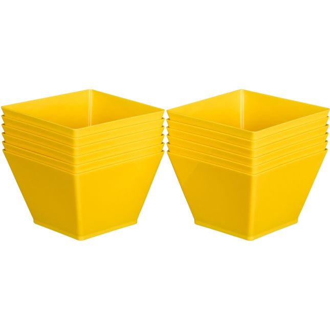 Individual Supplies Bins - Single-Color Set Of 12