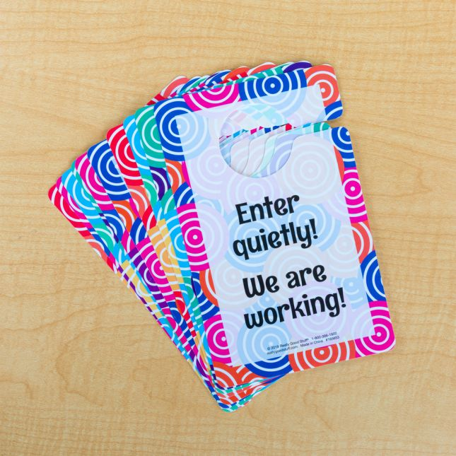Classroom Door Hangers  Set Of 10