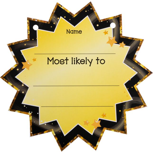 End-Of-Year Superlatives Cards