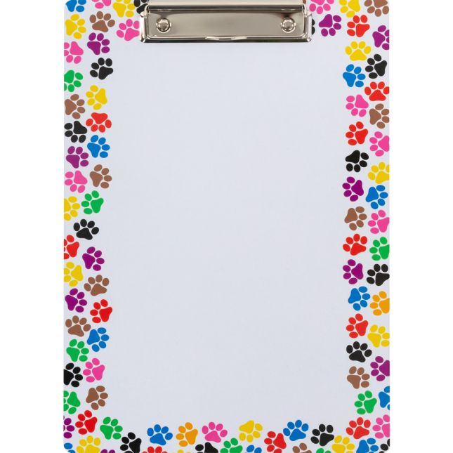 Paw-Print Clipboards