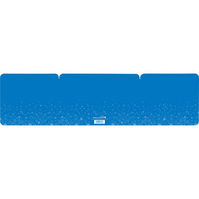 Large Fizz Privacy Shields - Set 12 - Blue - Matte