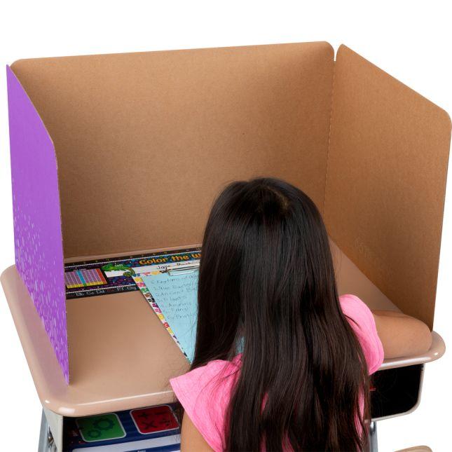 Large Fizz Privacy Shields - Set 12 - Green - Matte