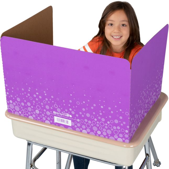 Large Fizz Privacy Shields - Set 12 - Purple - Matte