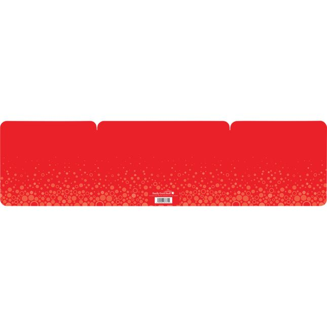 Large Fizz Privacy Shields - Set 12 - Red - Matte