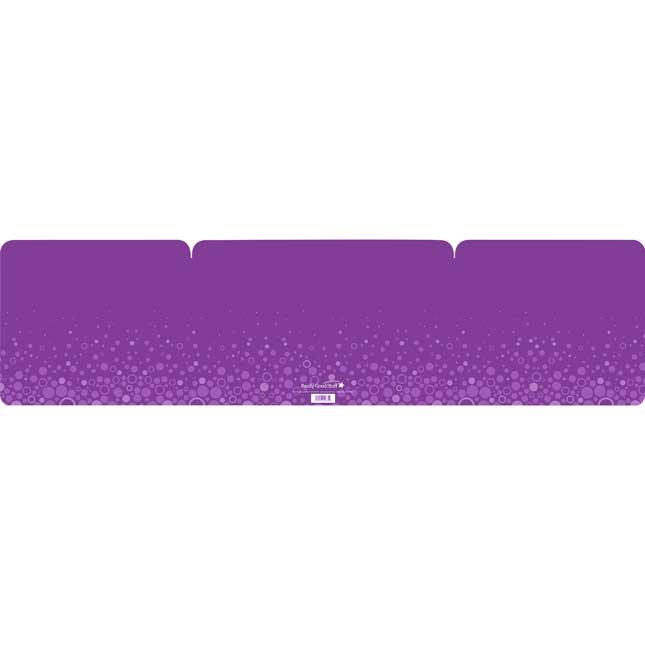 Really Good Stuff® Purple Privacy Shields - Matte - Set Of 12