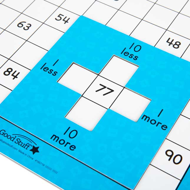 Magnetic Hundred Grid Activity – Set Of 6
