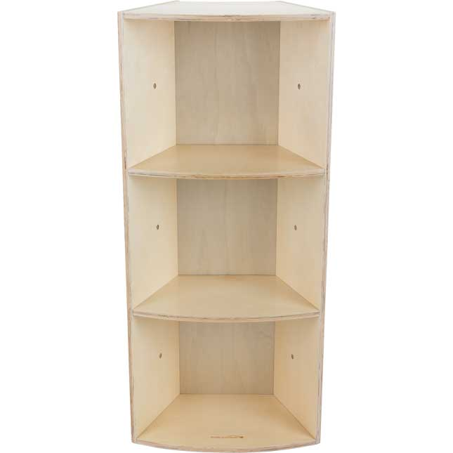 Curved Tall Bookcase
