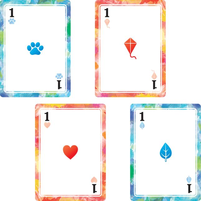 Jumbo Playing Cards - 54 cards