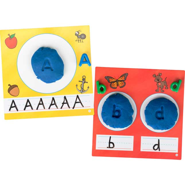 Letter Recognition Beads And Dough Kit