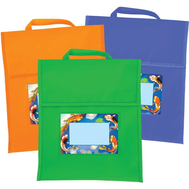 Character Koi Book Pouches And Labels