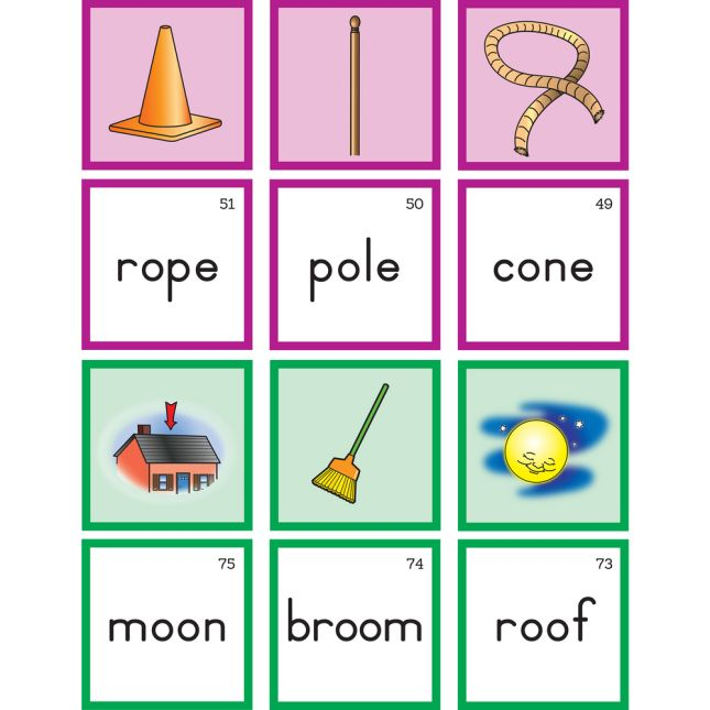 Tap & Blend Long Vowel Cards