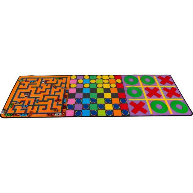 Indoor Recess Rug With Manipulatives - 1 rug, 46 manipulatives