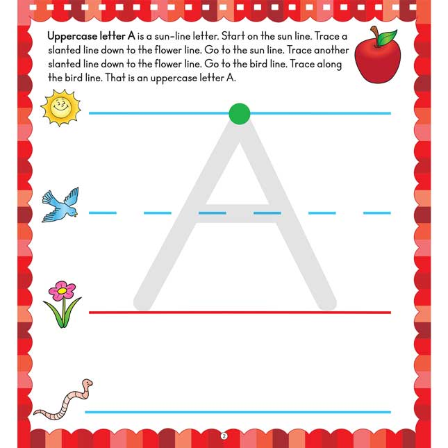 Letter And Number Formation Flip Chart
