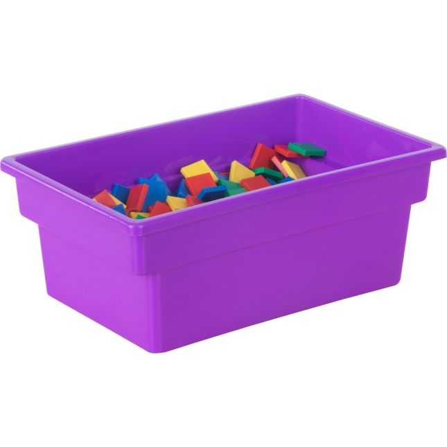 All-Purpose Bins - Set Of 12 - Single Color