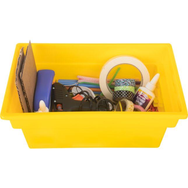 All-Purpose Bins - Set Of 12 - Single Color