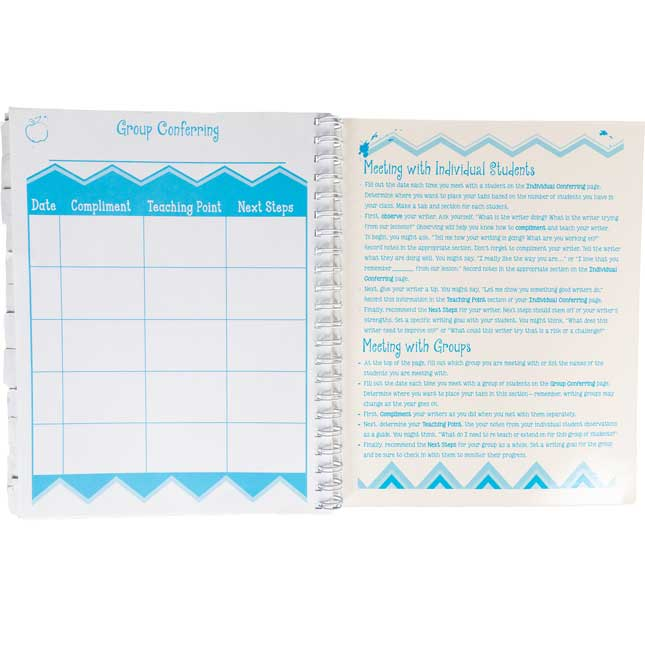 Conferring Notebook - Writing