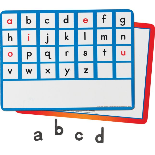 Magnetic Letter And Word Recognition  6-Student Set