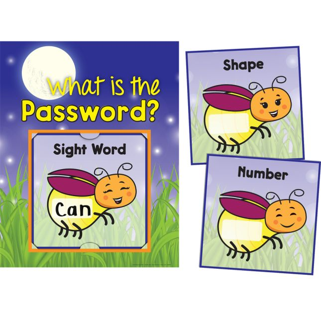 What Is The Password? 3-In-1 Poster Set