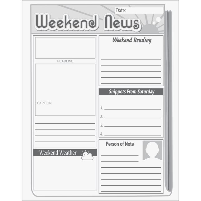Weekend News Journals