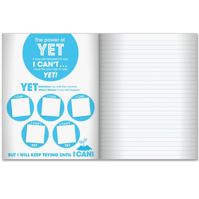 Growth Mindset Lined Journals - 12 Pack
