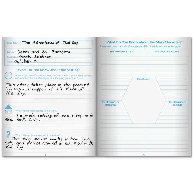 Read And Respond Flip Journals