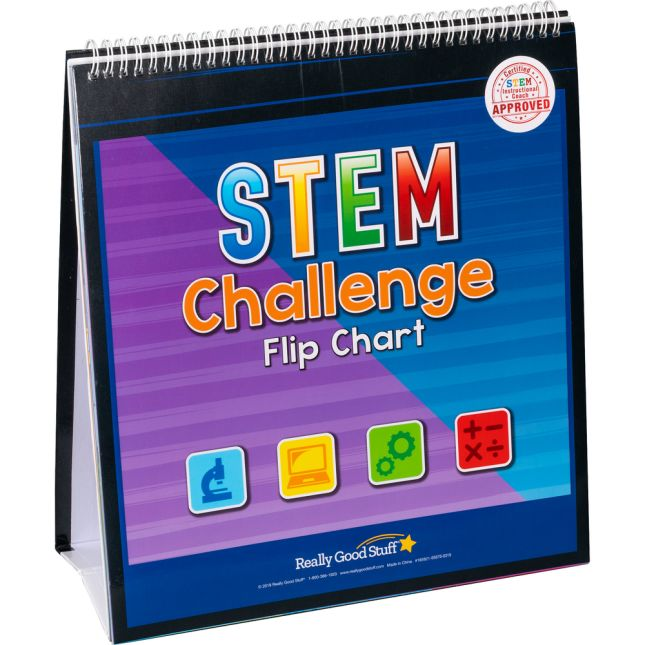 STEM Challenge Flip Chart - 1 flip chart_0
