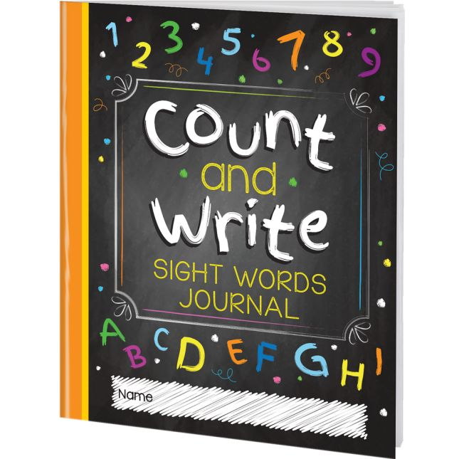 Count And Write Sight Words Journals