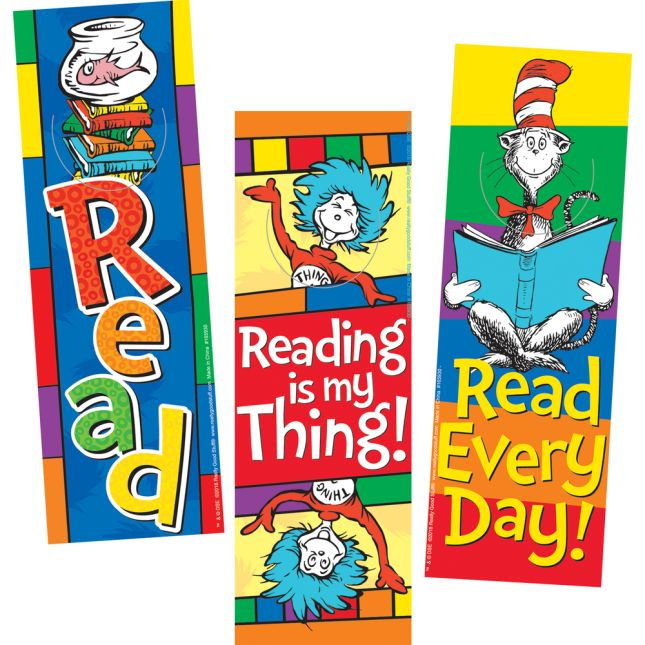 Dr. Seuss™ Bookmarks - 36 bookmarks
