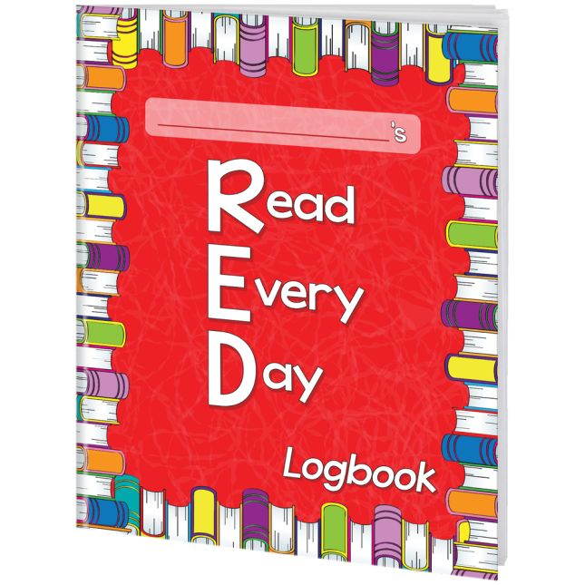 Read Every Day Logbooks - 12 journals