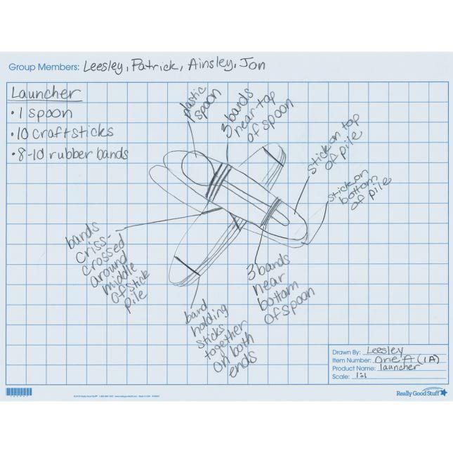 Engineering Blueprint Mats - 24 mats