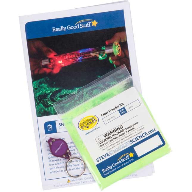 Shocking Halloween Glow Powder Kit