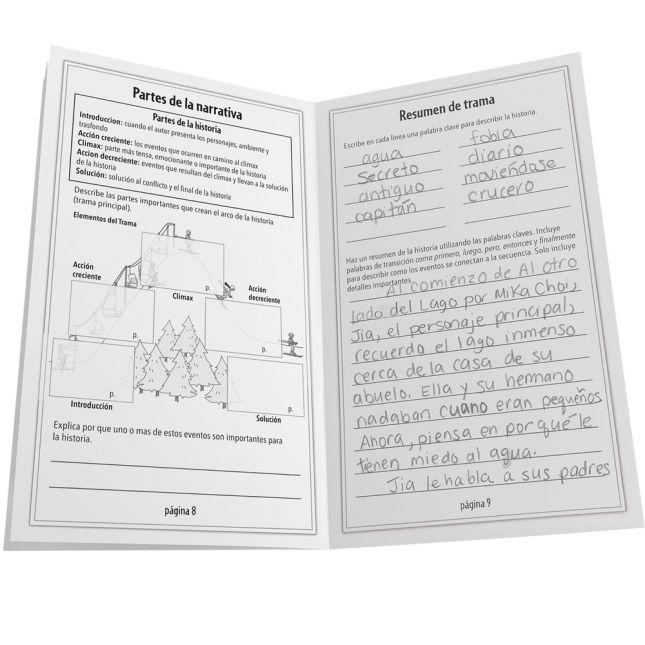 Ready-To-Decorate® Spanish Book Reports (Reporte del libro)