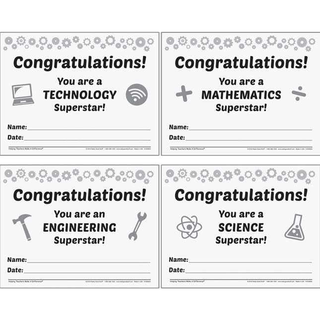 STEM Success Poster Set