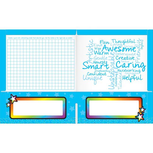 Breathing Star 2-Pocket Folders