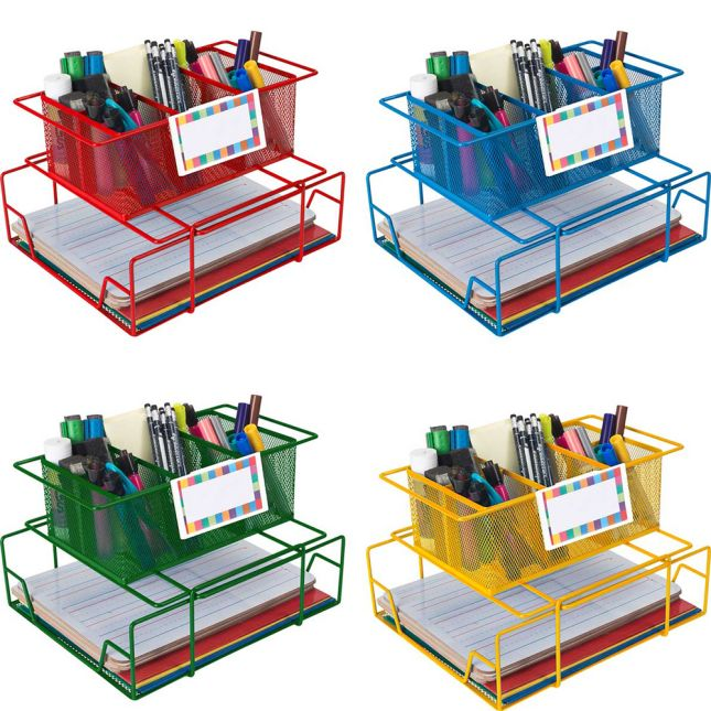 Group Materials Caddies™ With Label Holders - Set Of 4
