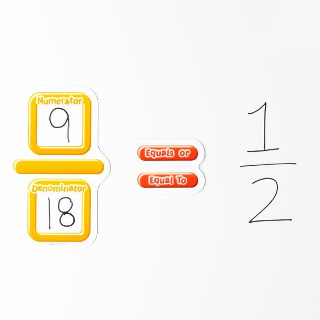Math Symbols And Words Magnet Set