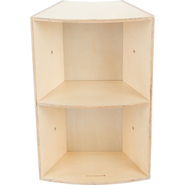 Curved Segment Bookcase