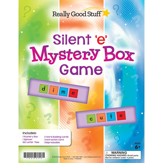 Silent 'e' Mystery Box Game
