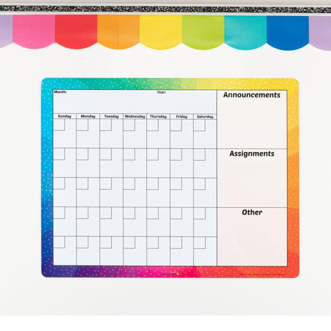Magnetic Dry Erase Calendar - 1 calendar_2
