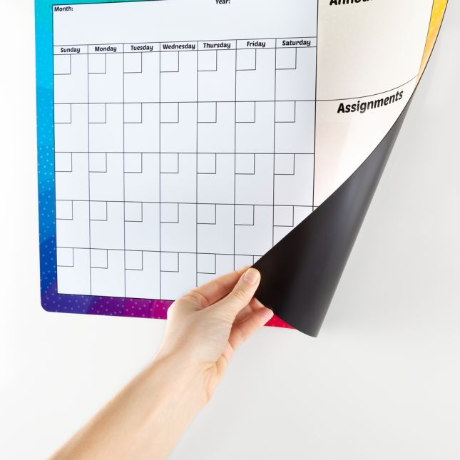 Magnetic Dry Erase Calendar - 1 calendar_4