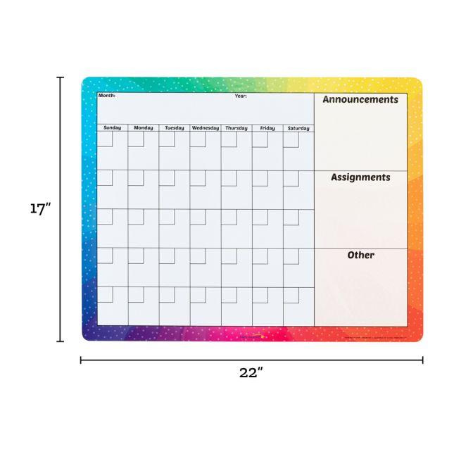 Magnetic Dry Erase Calendar - 1 calendar_5