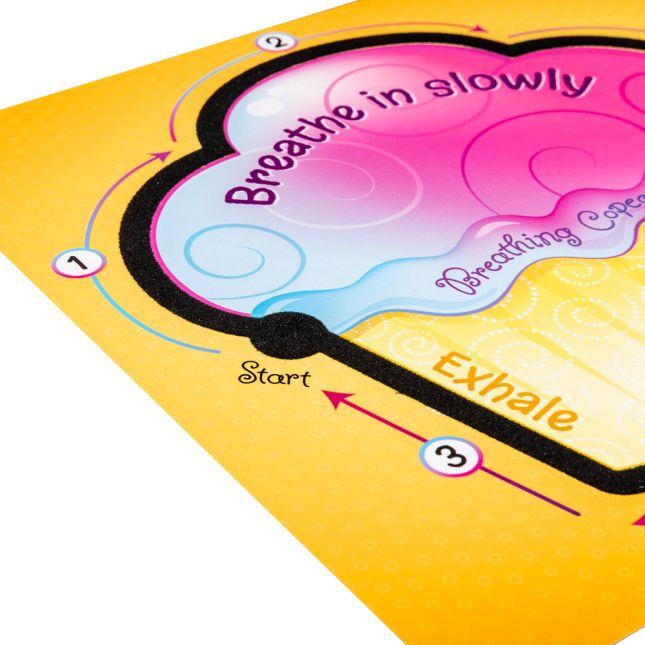 Tactile Breathing Copecake Cards