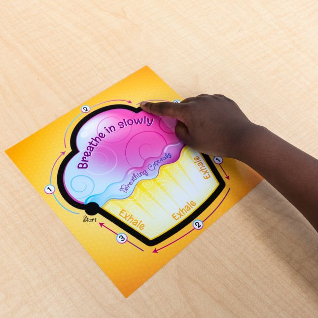 Tactile Breathing Copecake Cards - 6 cards