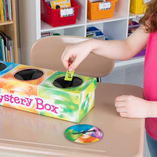 Blend And Digraph Mystery Box Game - 1 game